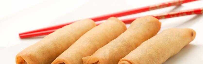 Red Thai Chicken Spring Roll