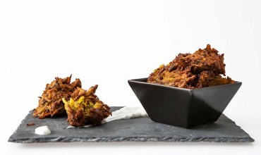 Fiery Hot Onion Bhaji