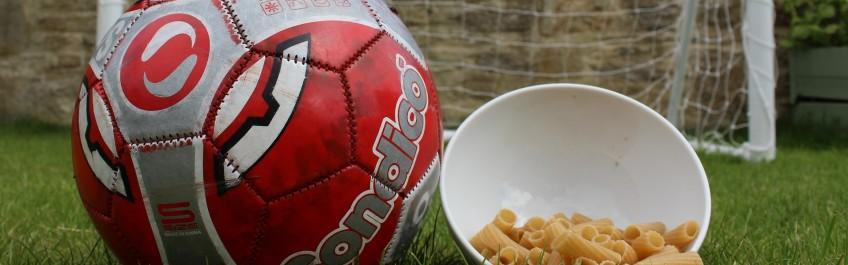 Football and food