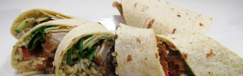 Back to school Jerk Wrap
