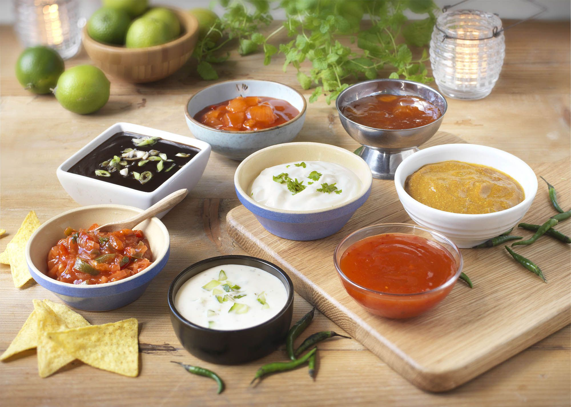 Dips and Sauces - SK Foods