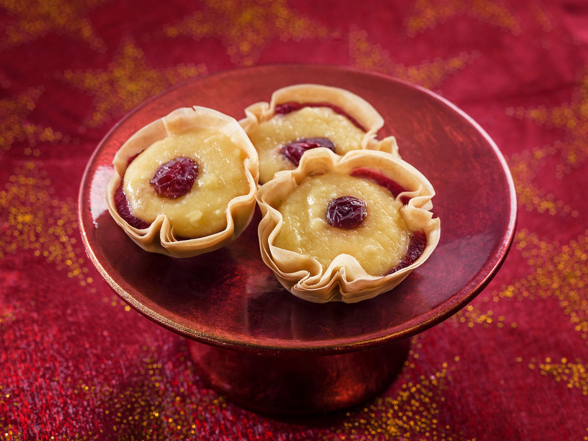 Brie & Cranberry Tart - SK Foods