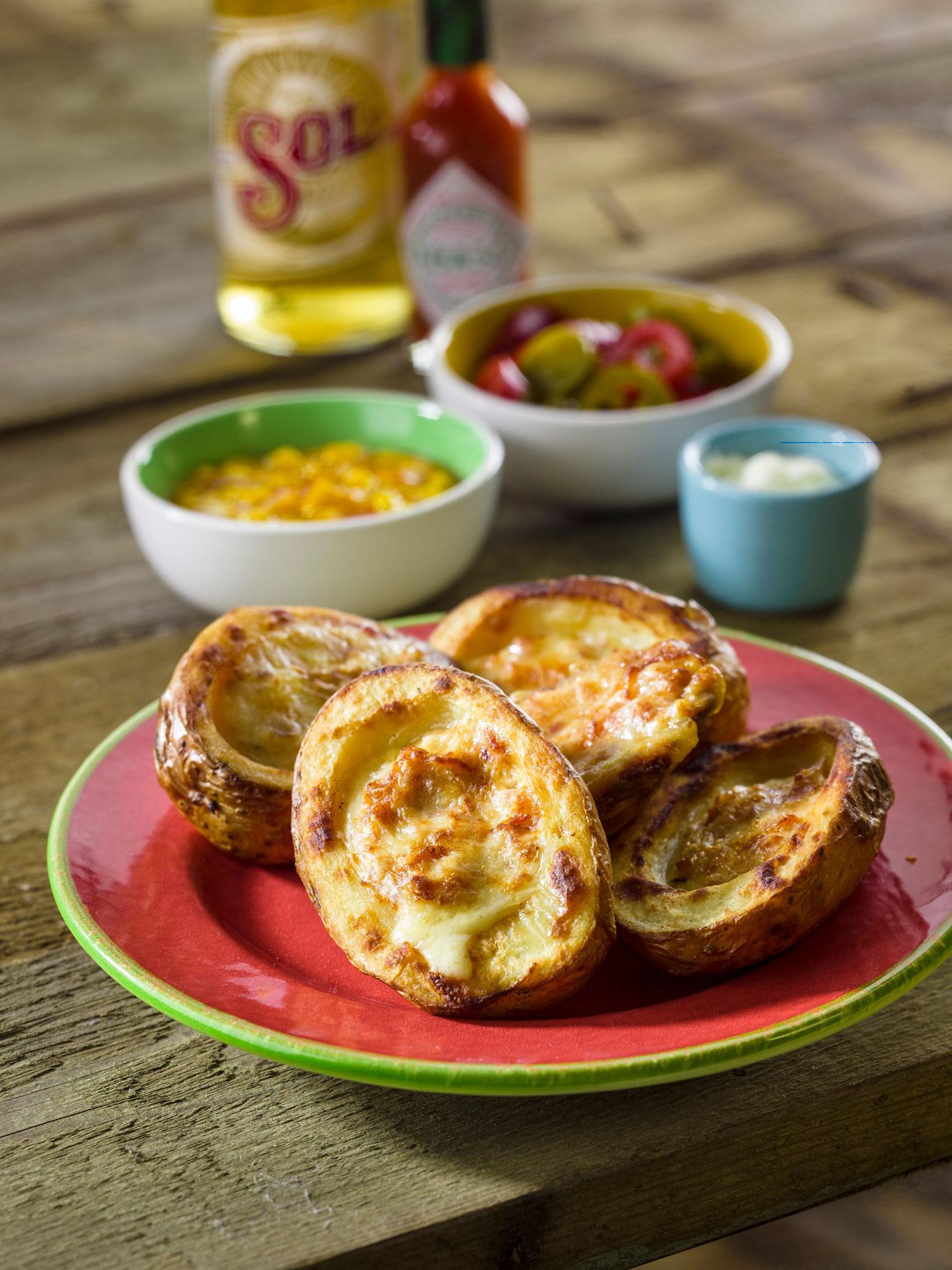 Loaded Potato Skins - SK Foods