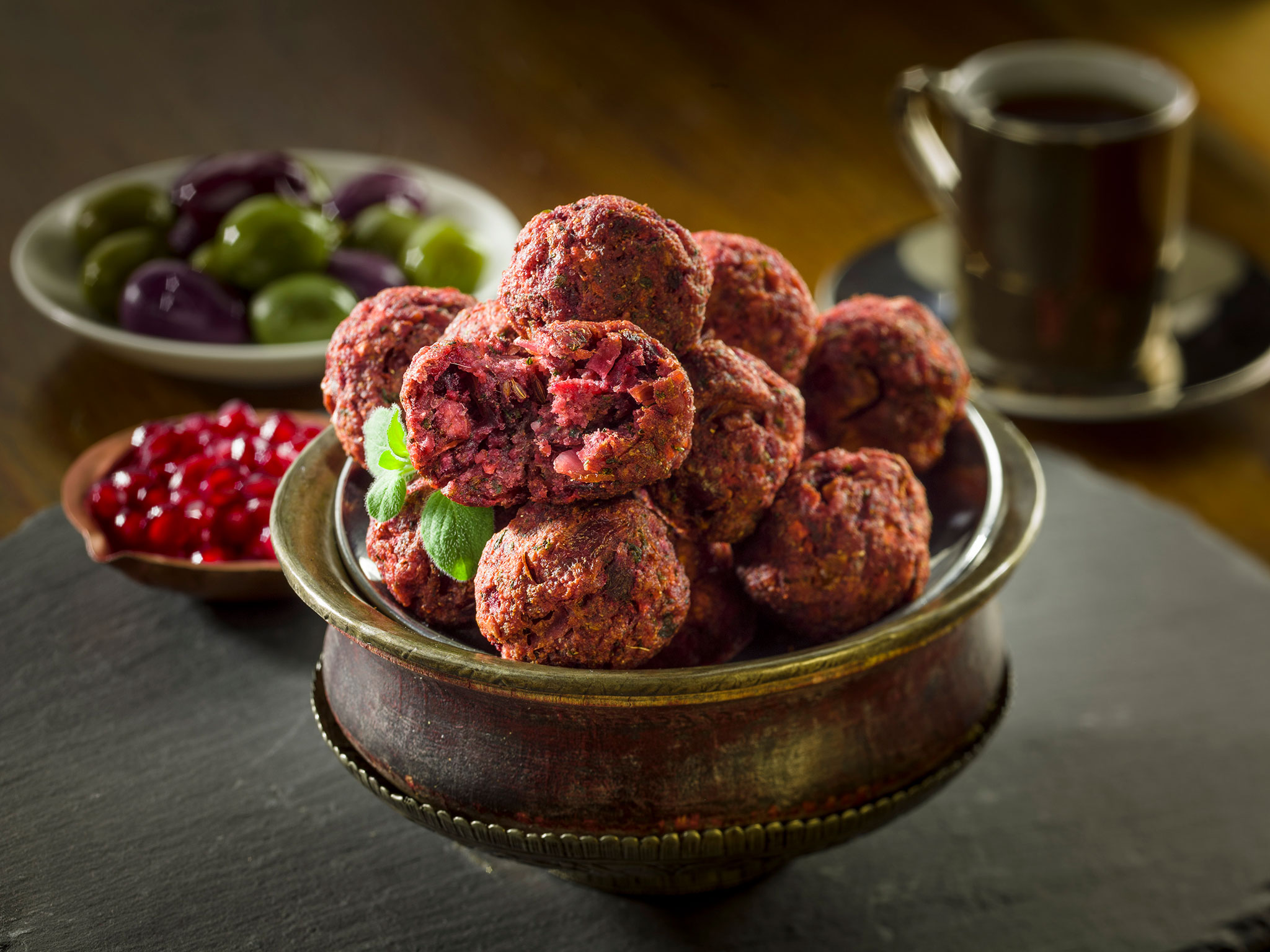 Beetroot Falafel - SK Foods
