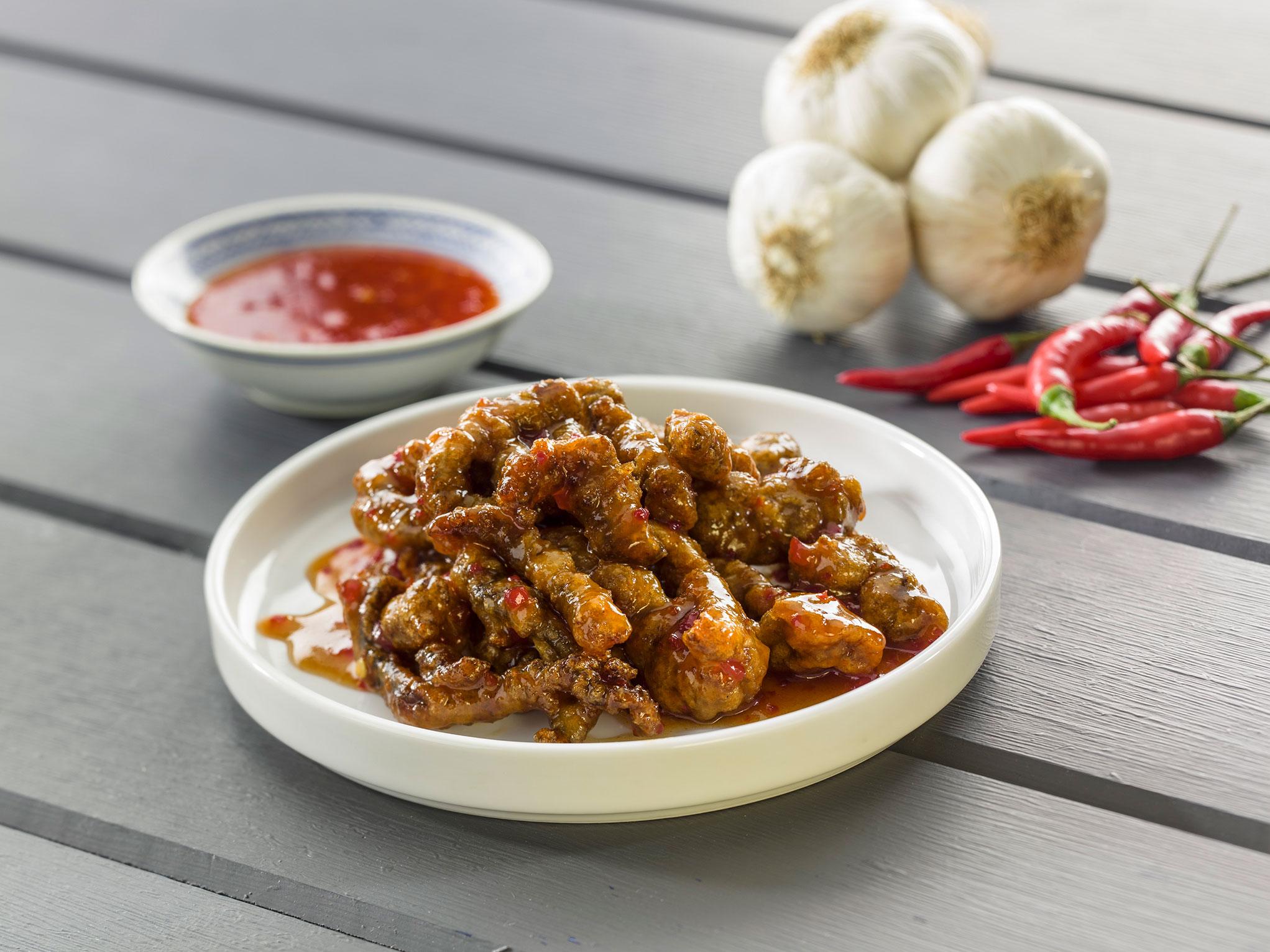 Crispy Chilli Beef - SK Food