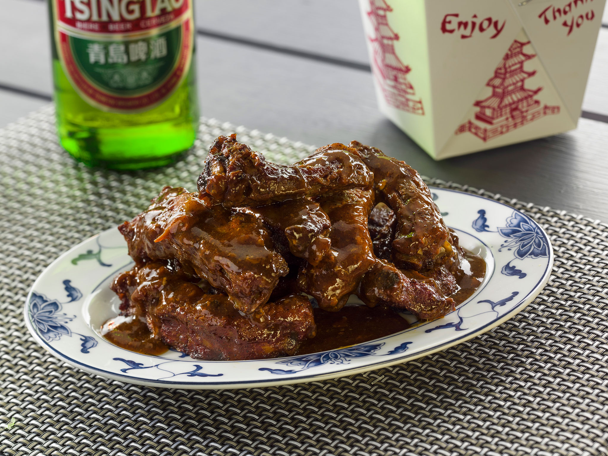 Sticky Oriental Ribs - SK Foods